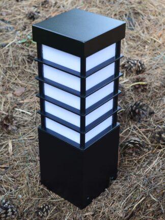 Lampa ogrodowa MERIVA 30 / BL