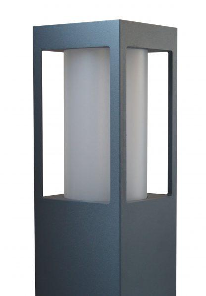 Lampa ogrodowa SQUER 55 z bliska - zgaszona