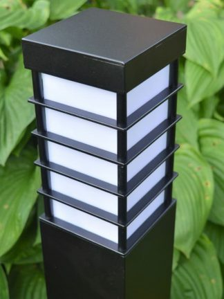 Lampa ogrodowa - zgaszona
